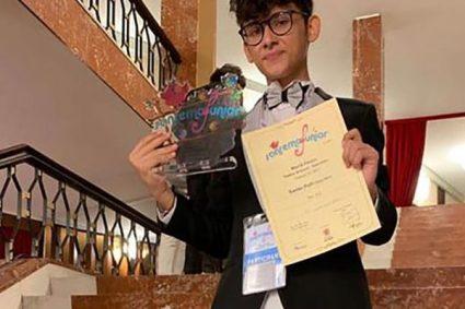 Davide Patti conquista il II° posto al Sanremo Junior World